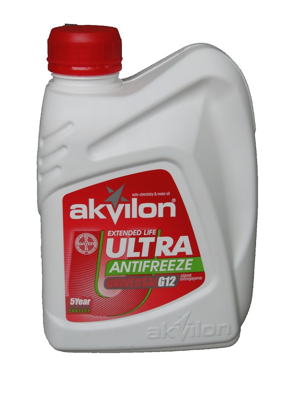 Антифриз AKVILON Antifreeze Ultra Red G12 1 л