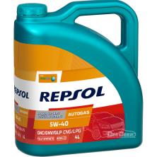 Моторное масло Repsol AutoGas 5W-40 CP-4 4л (RP033J54)