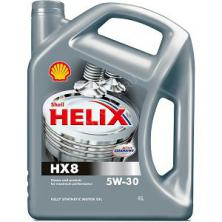 Моторное масло Shell HELIX HX8 5W-30 4 л.