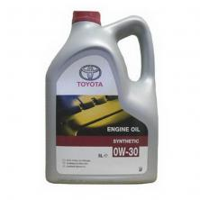 Масло моторное Toyota ENGINE OIL 0W-30, 5л (08880-80365)