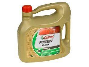 Моторное масло Castrol Power 1 Racing 4T 10W-50, 4л (4008177054228)