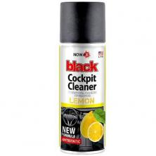 Полироль пластика NOWAX BLACK (NX00202) Cockpit Cleaner 200ml