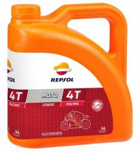 Моторное масло REPSOL MOTO RACING 4T 10W50, 4л (RP160P54)