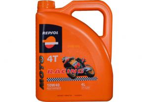 Моторное масло Repsol MOTO RACING 4T 10W40 CP-4 4л (RP160N54)