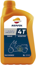 Моторное масло REPSOL Moto Scooter 4T 5W40 1 л.(RP164L51)