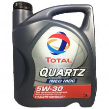 Масло мотоное Total Quartz Ineo MDC 5W-30 5л (199608)