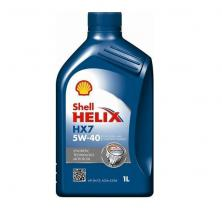 Моторное масло 1л Shell (HELIX HX7 5W-40 1L)