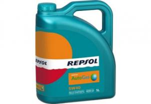 Моторное масло Repsol  AutoGas 5W-40 CP-5  5 л (RP033J55)