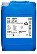Моторное масло Aral Turboral 10W-40, 20л (151E9A)