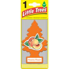 Ароматизатор в автомобиль Little Trees Персиковый (LITTLE TR Peachy Peach  5GR)